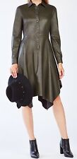 New with tag $298 BCBG Max Azria Beatryce Faux-Leather 3062 Dress XXS