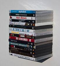 6 x DVD Blueray Turm Regal unsichtbar schwebend Clever Wohnzimmer Metallregal