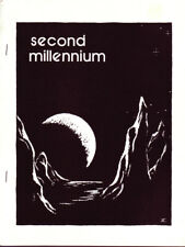 """Star Trek TOS Fanzine """"Second Millemium"""" Gen Vintage"""