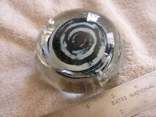 Beautiful Signed Paperweight Warlhall