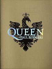 Queen + Paul Rodgers Original 2005 Japan Tour Book Concert Program gold w/photos