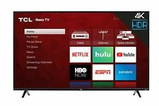 Tcl 55S425 55 inch 4K Smart Led Roku Tv (2019) Tv only New