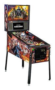 Stern Star Wars Mandalorian Premium Pinball Machine  Ships October