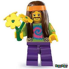 Lego 8831 Minifigur Serie 7 #11 Hippie Neu und ungeöffnet / New / Sealed