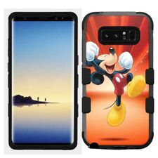 for Samsung Galaxy Note 8 Rugged Hard+Rubber Hybrid Case Mickey Mouse #Y