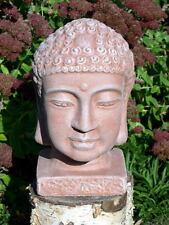 Steinfigur Buddha Buddhakopf Gartenfigur Figur Dekofigur Statue frostfest