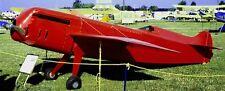 Wittman D-12 Bonzo D12 Airplane Wood Model Free Shipping Regular