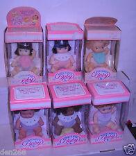#7685 NIB Vintage Hasbro 6 Love A Bye Baby Dolls