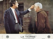 JEAN GABIN  LA HORSE  1970 PHOTO D'EXPLOITATION VINTAGE #6