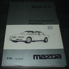 Werkstatthandbuch Mazda Xedos 6 Elektrik Automatik Getriebe Bremsen Klima Motor!
