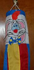New listing Rare Vtg Mint 1980s Who Framed Roger Rabbit Windsock Disney Amblin 1980s