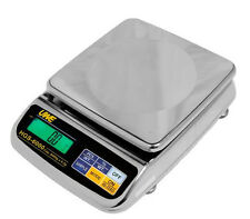 Intelligent HGS-15K Stainless Steel Portion Scale 15,000X0.5g,Wipe down Scale