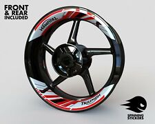 """Wheel Stickers for Triumph Rim Tape Motorcycle Decals Graphics 17"""""""