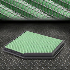 FOR BMW BIMMER 5-SERIES 3.0L/Z4 M GREEN REUSABLE ENGINE AIR FILTER INTAKE PANEL