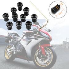 10Sets M5x15mm Motorcycle Windscreen Windshield Fairing Screen Nut Bolt Screw
