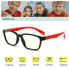 Blue Light Filter Block UV Lens Computer Glasses Anti Fatigue Eyeglass Kids