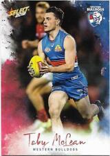 2018 Footy Stars Base Card (218) Toby McLEAN Western Bulldogs