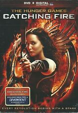 THE HUNGER GAMES: CATCHING FIRE DVD (2014) INCLUDES DIGITAL COPY STANLEY TUCCI