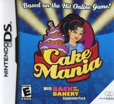 Cake Mania (2007) Brand New Factory Sealed USA Nintendo DS NDS Game