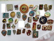 37 set lot SOVIET RUSSIAN PIN pins CHILDREN KIDS fairy tale Animals Cartoon