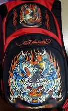 Ed Hardy Back Pack With Solar Panel