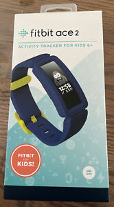 Fitbit Ace 2 Kids Fitness Bluetooth Activity Tracker - Blue