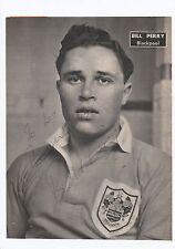 BILL PERRY BLACKPOOL 1949-1962 RARE ORIGINAL SIGNED MAGAZINE PICTURE CUTTING