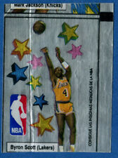 Byron Scott NBA. Chewing / Bubble Gum Stickers.