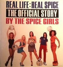 SPICE GIRLS BOOK REAL LIFE REAL SPICE THE OFFICIAL STORY BY THE SPICE GIRLS
