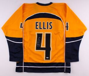 Ryan Ellis Signed Nashville Predators Jersey (Beckett COA) Defensman