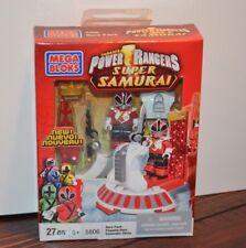 Mega Bloks Power Rangers SUPER SAMURAI 5806 Hero Pack SUPER MEGA MODE RED NIB