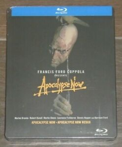 Apocalypse Now (blu-ray) Steelbook. NEW & SEALED (US release - region A)