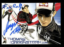 Thomas Morgenstern AUTOGRAPH ORIGINAL SIGNED Ski Jumping + a 166729