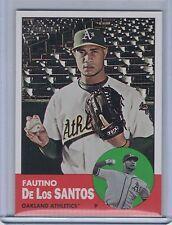 FAUTINO De Los SANTOS 2012 Topps Heritage SP #452  (B5226)