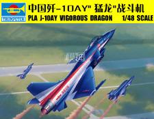 Trumpeter 02857 1/48 Assemble model,Chinese Pla J-10ay Vigorous Dragon fighter