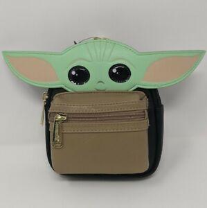 The Child Mandalorian Baby Yoda Star Wars Loungefly Wristlet Belt Bag Disney NWT