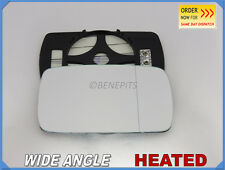 Wing Mirror Glass BMW SERIES 3 E46 1998-2005 Wide Angle HEATED Right Side #B001