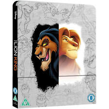 The Lion King (animated) 4k Ultra HD + Bluray Exclusive Steelbook *NEW/SEALED*