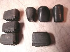 7 Vtg RUBBER TIPS FEET ends. cymbal stand throne 60s/70s/80s Players Cond ludwig