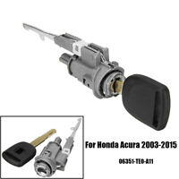 Ignition Switch Cylinder Lock For Honda Accord CRV Civic Odyssey Element + Key