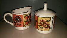 Holt Howard Sugar Bowl And Creamer Set 1964 Vintage