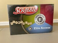 USAOpoly Boardgame Scrabble - Elite Access Sealed New Diversify