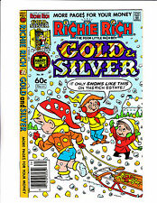Richie Rich Gold & Silver No 39   : 1982    : Silver & Gold Snow Cover!: