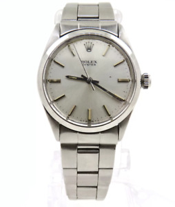 Rolex 34mm. Oyster Perpetual Reference 1002 Stainless Steel Year 1969