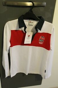 Brand New & Fully Tagged Womens/Ladies England Rugby Long Sleeved Shirt - Size 8