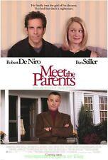 MEET THE PARENTS MOVIE POSTER Original DS 27x40 ROBERT DE NIRO BEN STILLER 2000