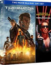 The Terminator / Terminator: Genisys [Blu-ray] NEW - UNCUT EDITION - REGION FREE