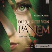 SUZANNE COLLINS - DIE TRIBUTE VON PANEM 1-TÖDLICHE SPIELE 6 CD HÖRBUCH  NEU