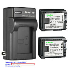 Kastar Battery Wall Charger for Canon BP-808 CG-800 & Canon FS400 Camcorder