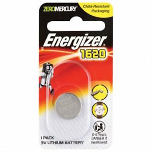 Energizer CR1620 Button Battery - 3v Lithium Batteries - FREE POST